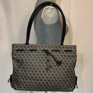💋BLACK&GRAY DOONEY & BOURKE SHOULDER BAG💋